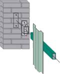 Metāldarbnīca image016 Žogi no profilētiem metāla dēlīšiem