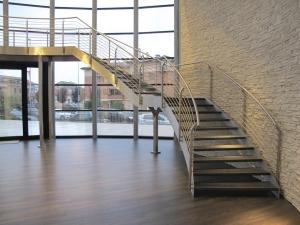 Kāpnes ar divām sijām