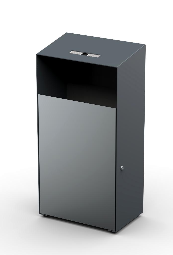 Metāldarbnīca Lean-line-urna-jaunā-6 Atkritumu urna 12202