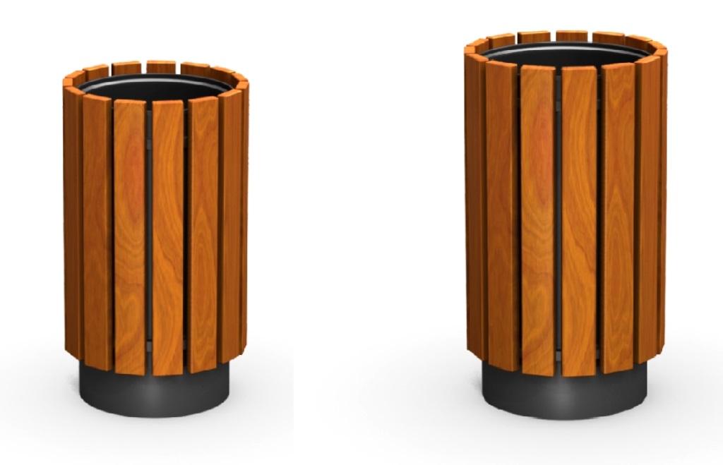 Metāldarbnīca Urna-1210908 Atkritumu urna 12108